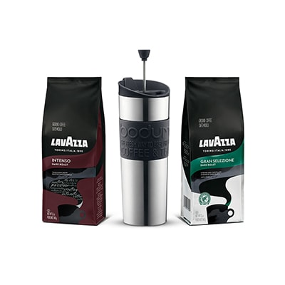 coffee gift pack lavazza bundles of coffee and accessories to